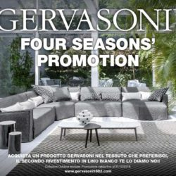 Four Seasons' Promotion di Gervasoni – un rivestimento in regalo