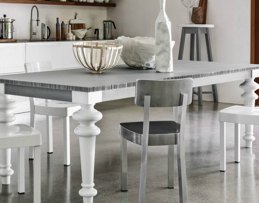 tavolo gray gervasoni shabby chic