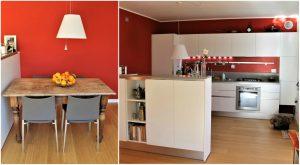 casa accogliente e confortevole cucina