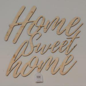 personalizzare l'arredamento - decorazioni - scritta in legno