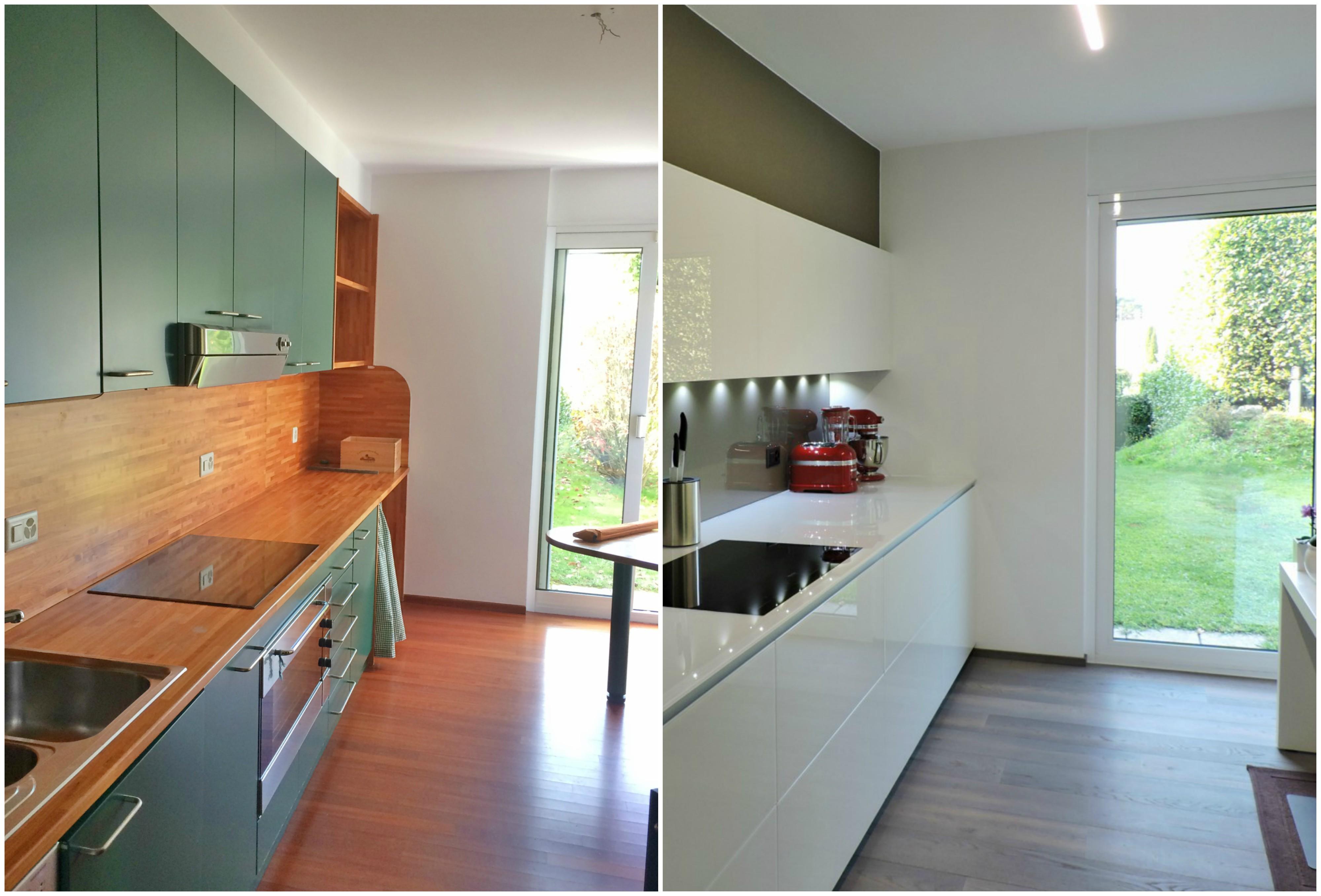 ristrutturare la cucina prima e dopo