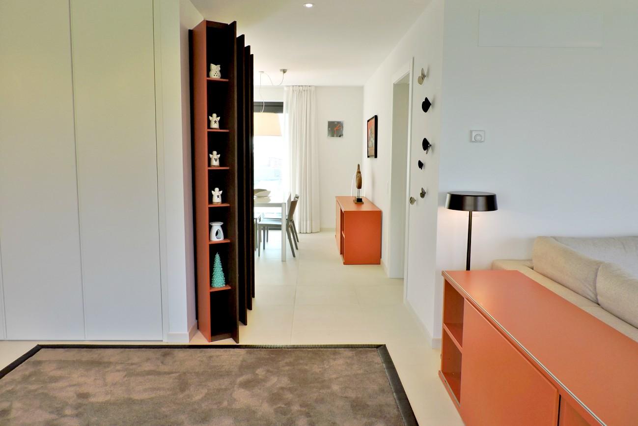appartamento colorato zona giorno