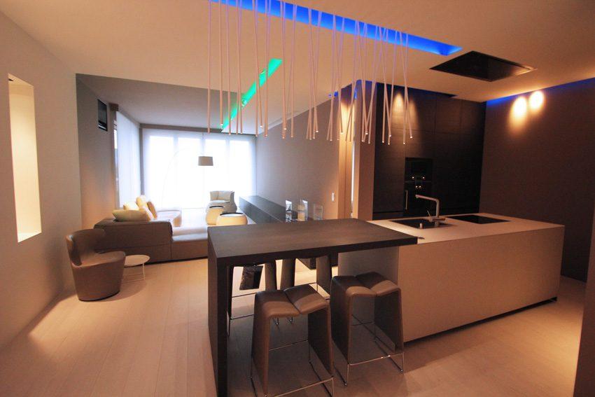 progetto completo di design d'interni - living