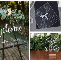 Decorazioni per matrimoni: gli accessori personalizzati per il vostro giorno speciale!