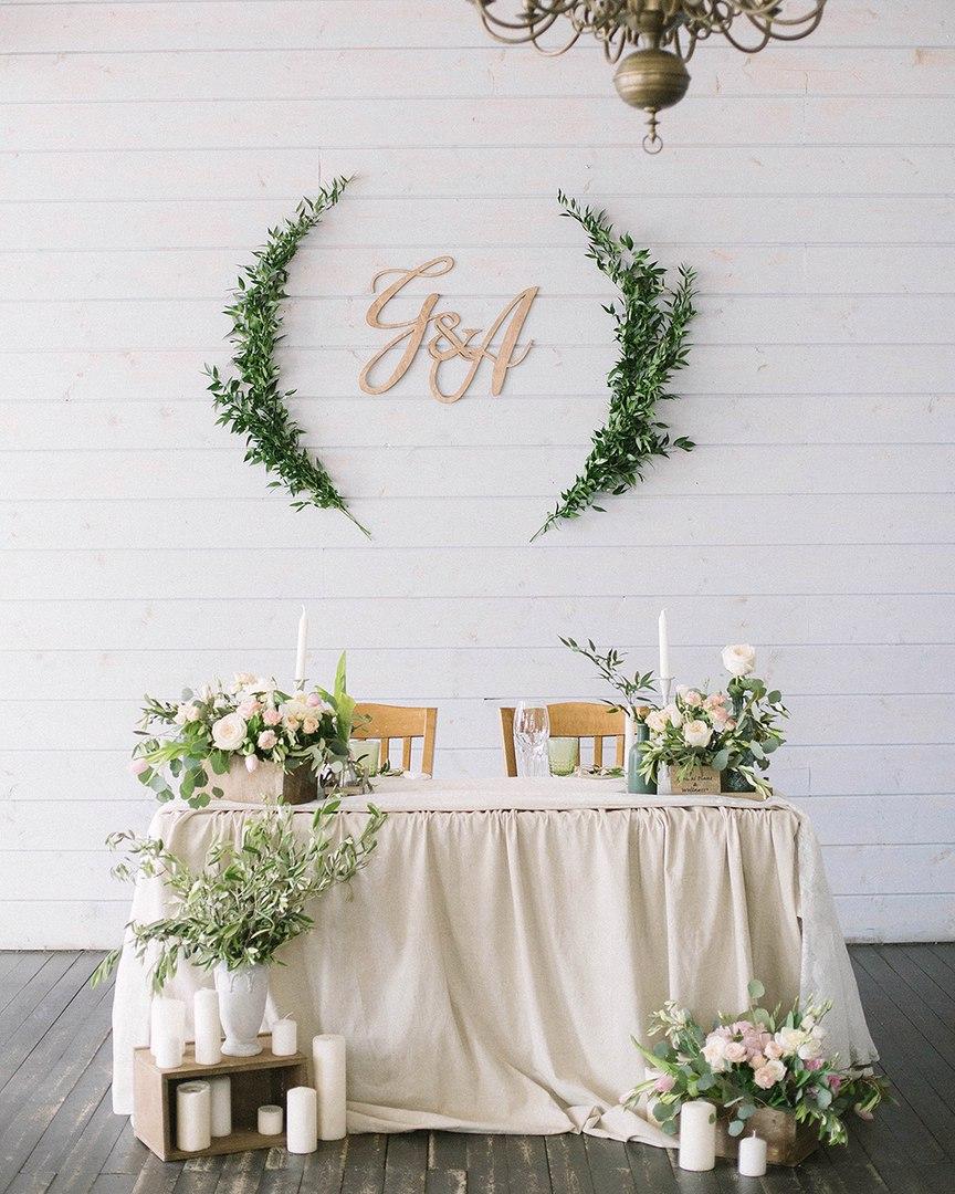 Decorazioni Per Matrimonio Tavolo Sposi Selva Interior