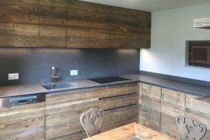 cucina moderna in legno massello selva interior