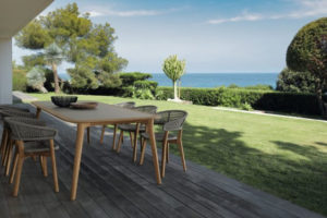 tavolo da giardino in teak talenti outdoor