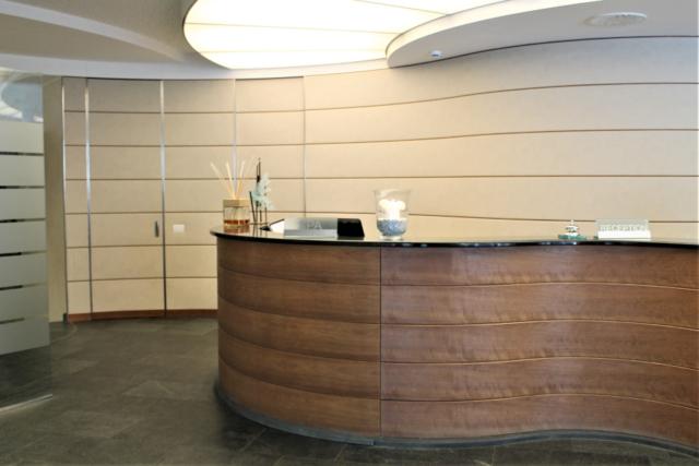 mobili su misura per hotel pareti curve parco san marco