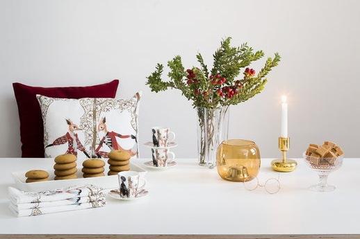 Finnish Design Shop addobbi di Natale rosso