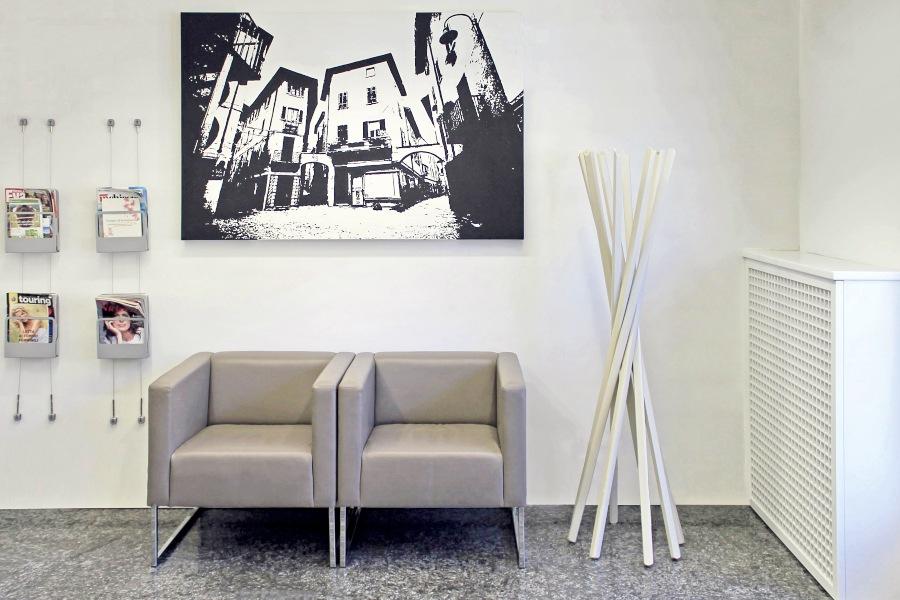 ristrutturare sala d'aspetto studio dentistico