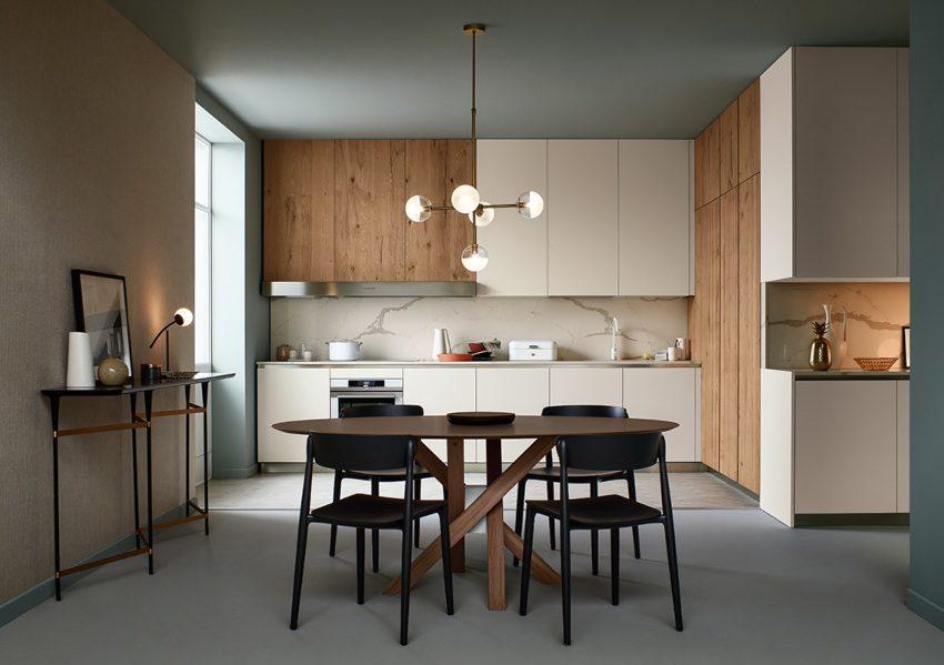 cucine stile scandinavo - lounge shellsystem veneta cucine