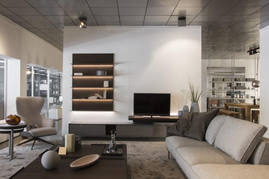 appartamento in showroom - zona giorno