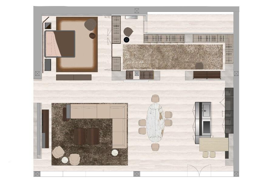 appartamento tipo molteni dada