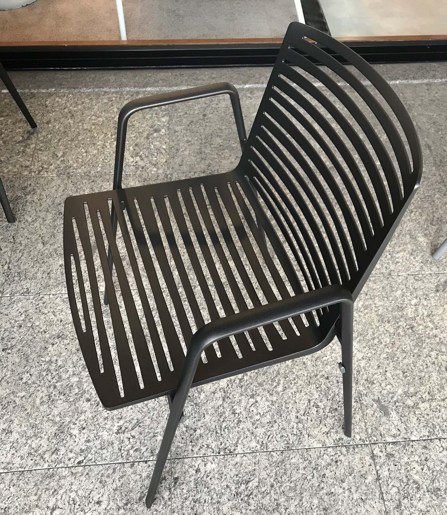Sedia con braccioli Zebra Fast Image